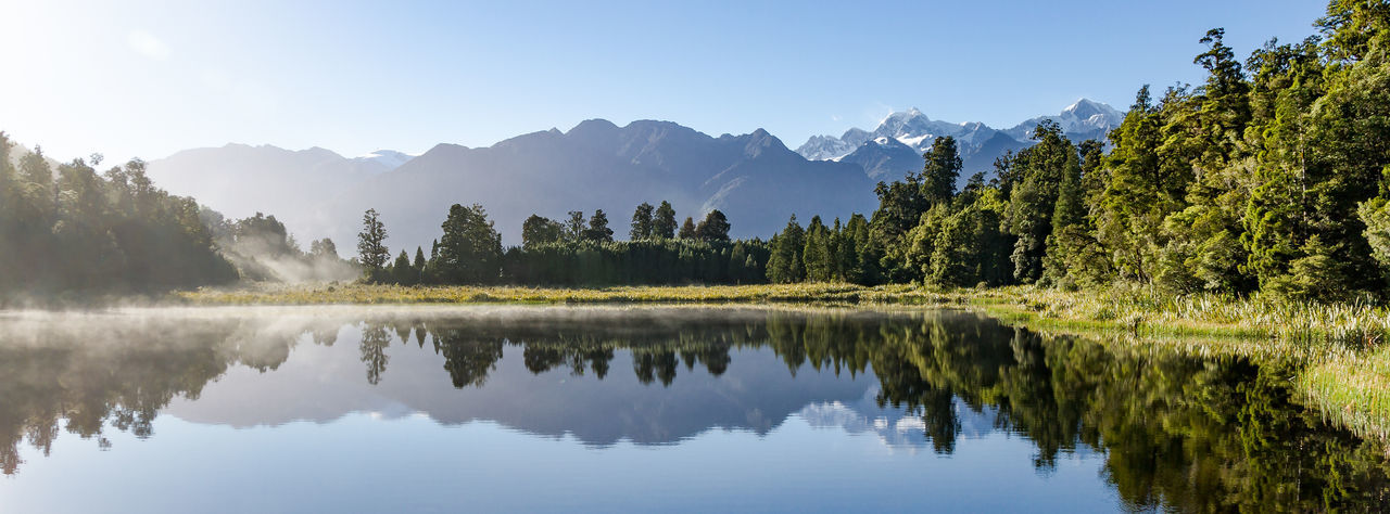 Sunrise at Lake Matheson with a fantastic view at Mount Tasman and Mount Cook! Beauty In Nature Lake Lake Matheson Lake View Landscape Mount Cook Mountain Nature Nature Photography New Zealand Scenery Newzealand Newzealandphotography Outdoors Reflection Sunrise_sunsets_aroundworld The Great Outdoors - 2016 EyeEm Awards Tranquil Scene Travel Travel Photography