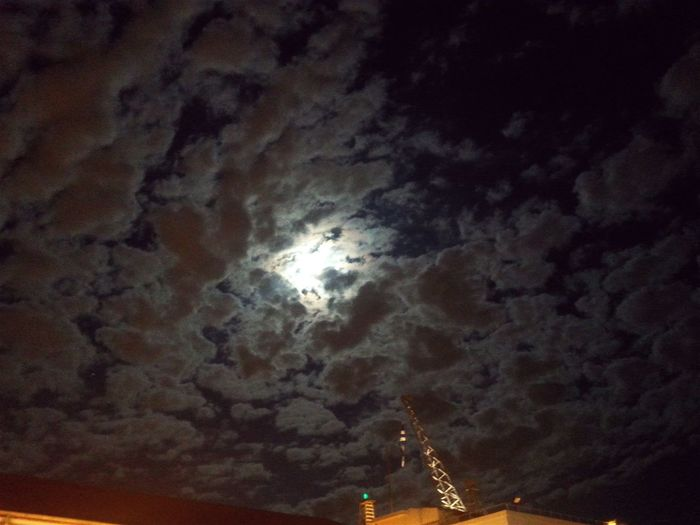 Night Photography Clouds And Sky Moonlight OpenEdit