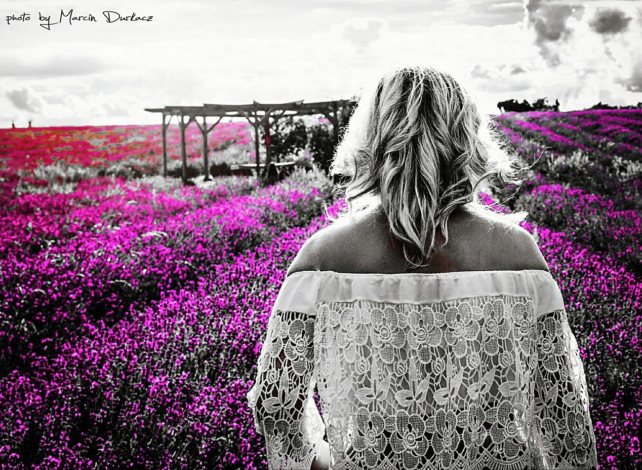 Photography Photooftheday Pic Flower Pink Color Nature Women Adult Beauty In Nature People Day Rear View Casual Clothing MyGIRL MyDarling  Photoshoot Myfiancee Photoshop