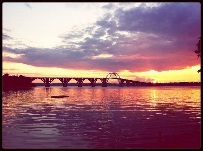 Sunset Beautiful Love Goodnight