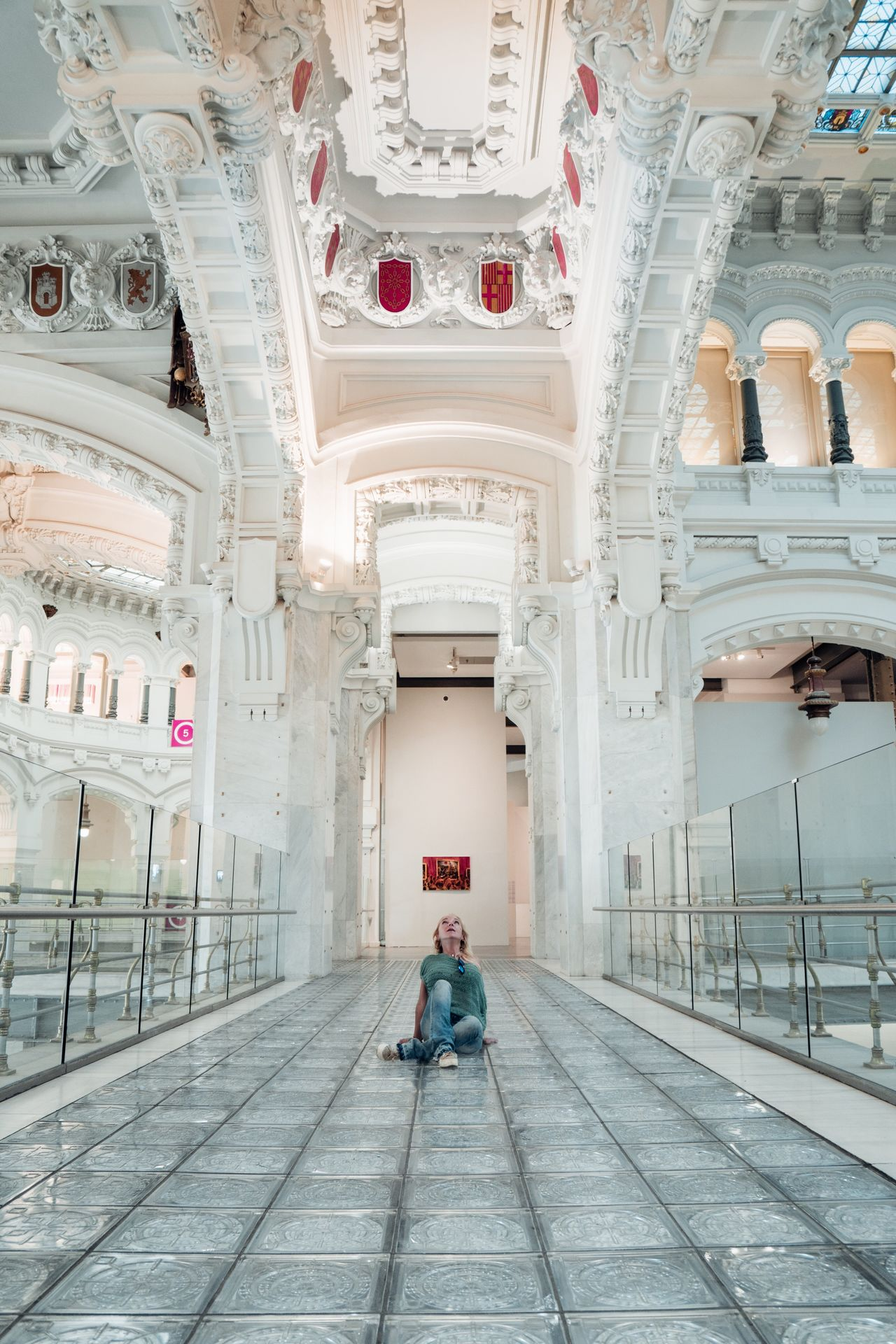 Full Length Architecture One Person Indoors  Architectural Column Sitting People Day Adult Adults Only City Portrait The Architect - 2017 EyeEm Awards Front View Architecture Europe Lifestyles