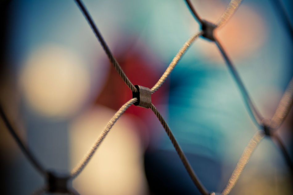 Art Is Everywhere Blue Close-up Day Daylight Fence No People Outdoors Selective Focus Street Photography Streetphotography Structure Urban Urban Exploration Urban Geometry Urbanphotography Wire