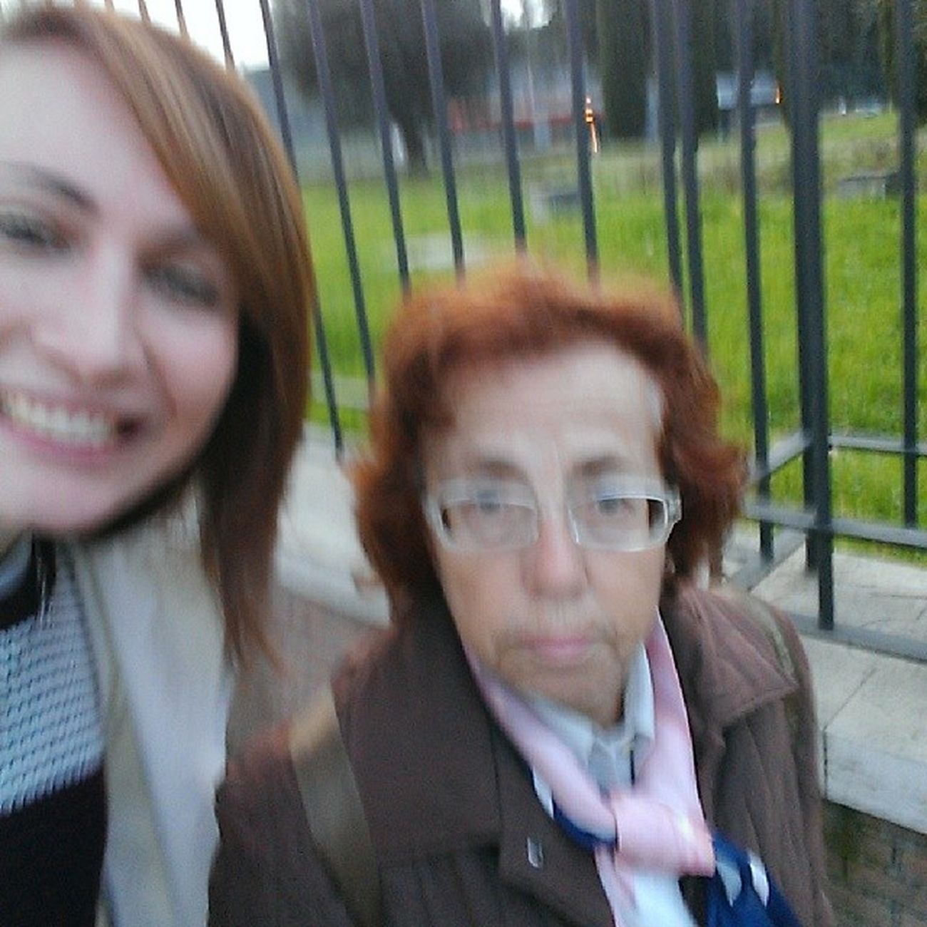 I think I pissed this woman off, as she started chasing me down the street shouting in Italian at me! Hahahaha Selfieswithstrangers