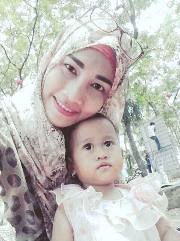 Holiday in Taman Buah Mekar Sari - Bogor. My sunshine, my soul, my life, my world, my everything. Hi! Hello World That's Me Taking Photos Holiday Memories Familytime👪👧👨👩 Kids Cute♡ Hijab Smile :)