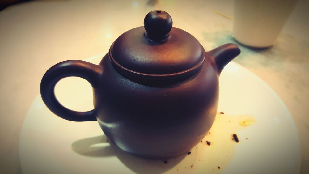 Food And Drink Food Healthy Eating Day Drink Teapot Indoors  Tea - Hot Drink No People Refreshment Close-up EyeEmNewHere Clay Teapot Dark Brown