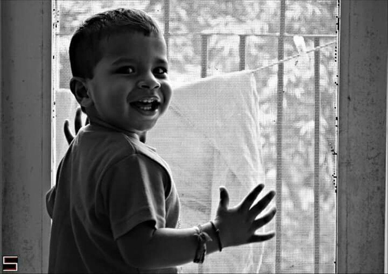 Smile Taking Photos My Lovely  Babyboy l