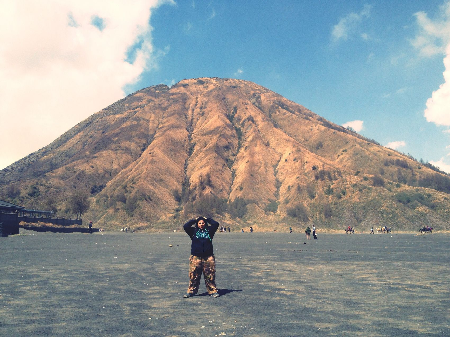 My Life, My Adventure. Lost in East Java (Bromo Mt.) Adventure Get Lost My Life Journey Traveling Amateur Traveler Mountains Blue Sky Clouds Cool