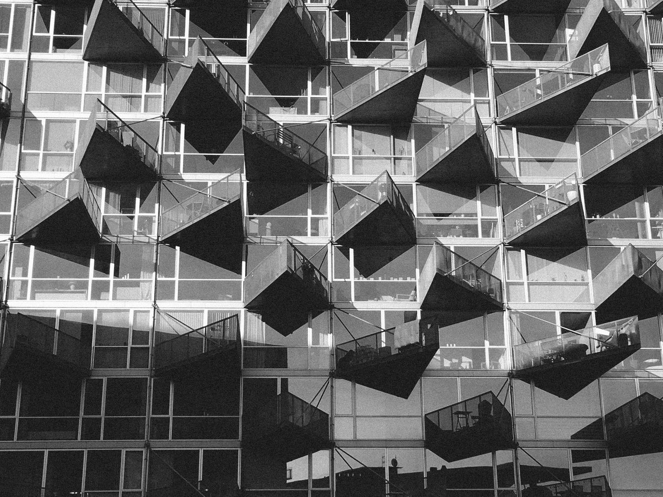 Architecture Architecture Building Exterior Built Structure Day Facade Building Façade Geometric Shape Outdoors Pattern The Architect - 2017 EyeEm Awards