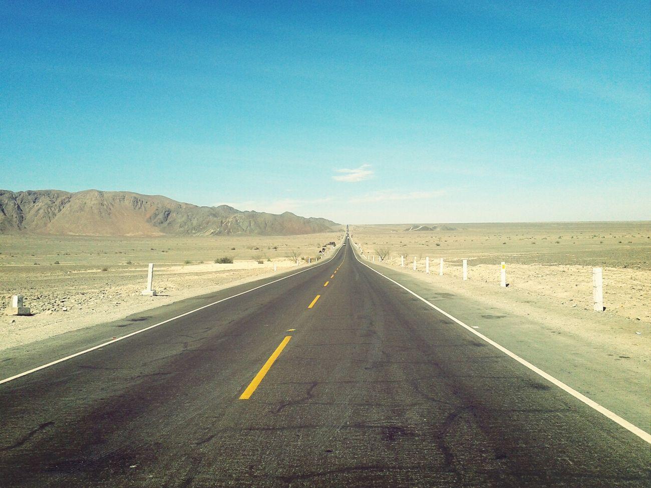 Panamerican Road Ontheroad Travel Desert