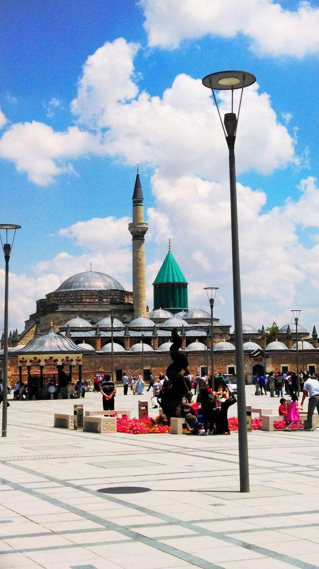 Hello World Konya Mevlana Mosque