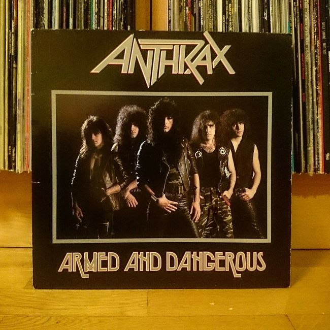 Need some fine metal tonight. Evening Vinyl Vinylcollector Metal Anthrax