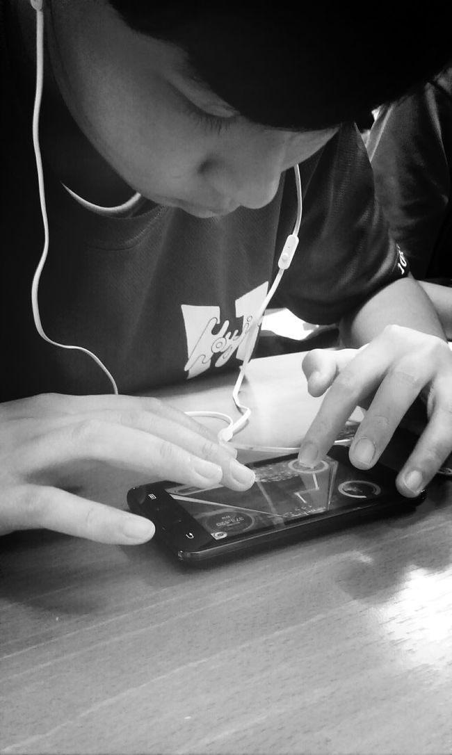 Technology I Can't Live Without Classmates Playing Games Watching People