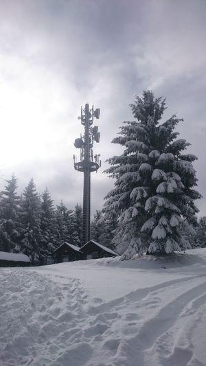 Schnee Turm