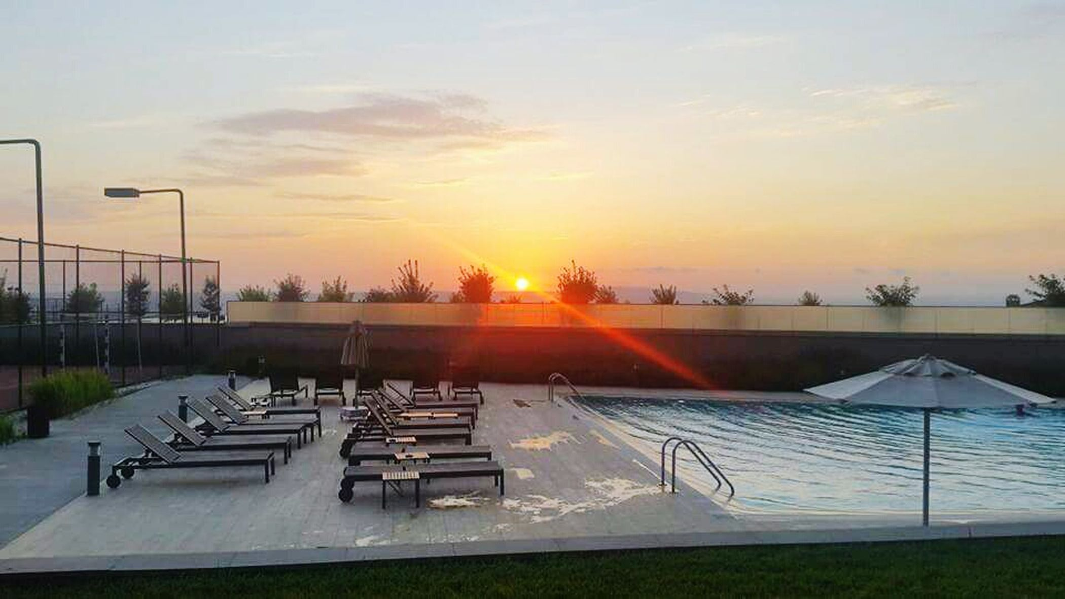 Pool Funtimes GreatTimesWithGreatPeople Relaxingview Sunset MissingThatTime Sunset_collection Uwcshortcourse2015 PhonePhotography Istanbul Turkey