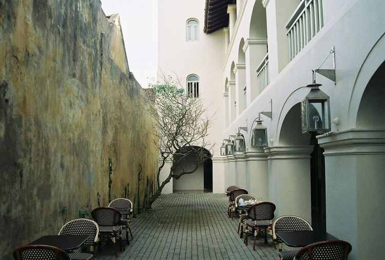 Connected By Travel Sri Lanka 🇱🇰 Chair Architecture Built Structure Dutch Architecture Galle Fort The Week On EyeEm Nikon N70 35mm Film