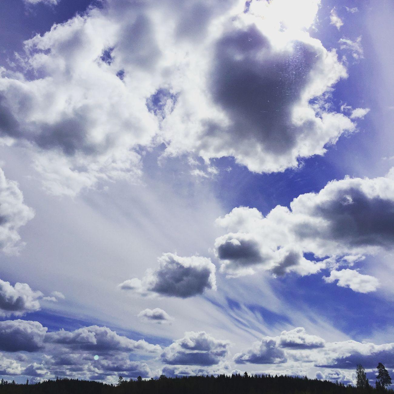 Finland clouds cloudporn