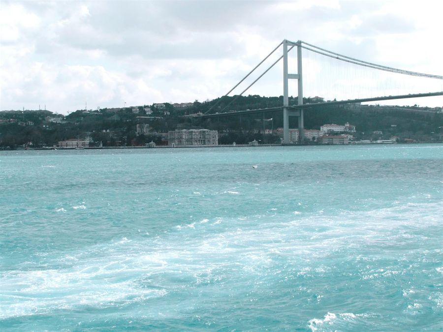 Istanbuldayasam Taking Photos Sea Marmara Sea Blue Sea Bridge🌉 Nice Atmosphere Istanbul City Hello World Ferry