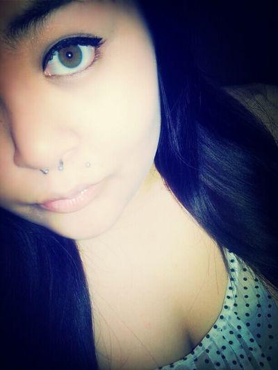 Pills n' Potions. Make-up Septum Hazel Eyes  Monroe Piercing