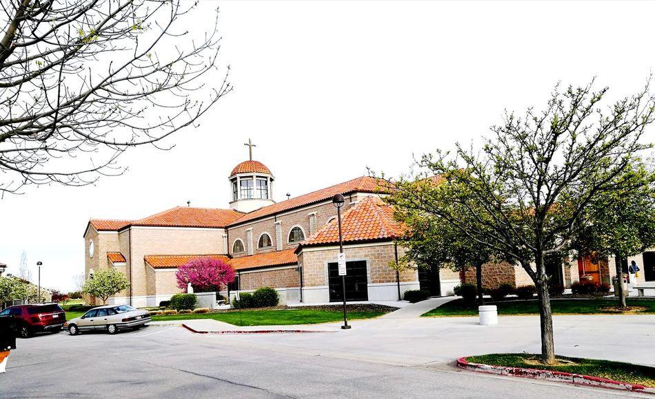 HolyApostles Romancatholic Church Bricks Trees Nature Photography