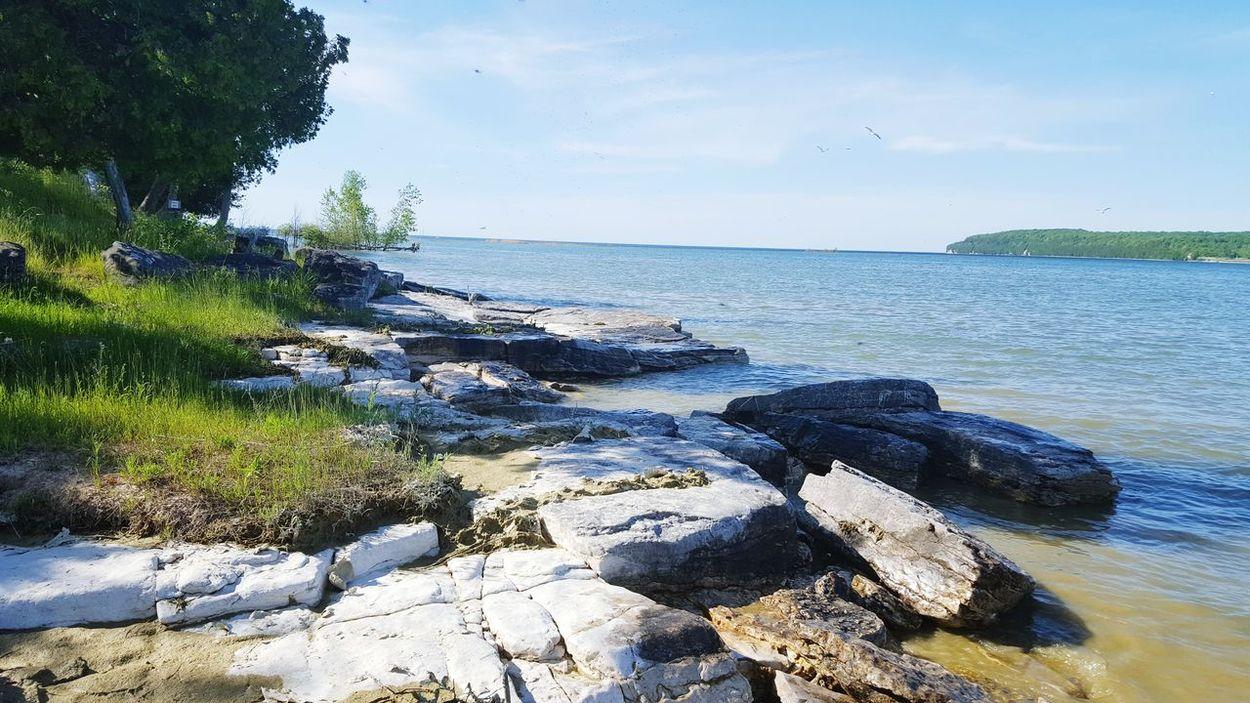 Fine Art Photography Water Travel Wisconsin Life Summer 2016 Lake Michigan Beach Door County, Wisconsin Washington Island
