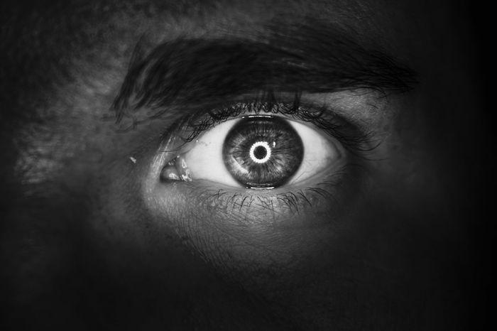 :D Taking Photos Eyes Eye Spooky SpookyEyes Blackandwhite Blackandwhite Photography Black And White
