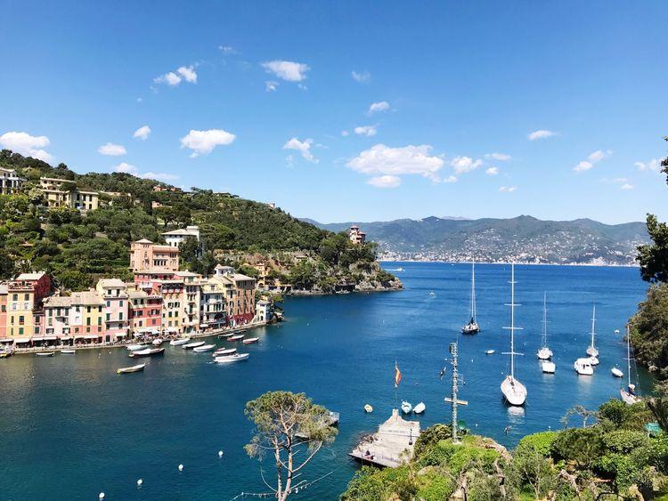 Italy❤️ Italian Riviera Sea Boats Paradise