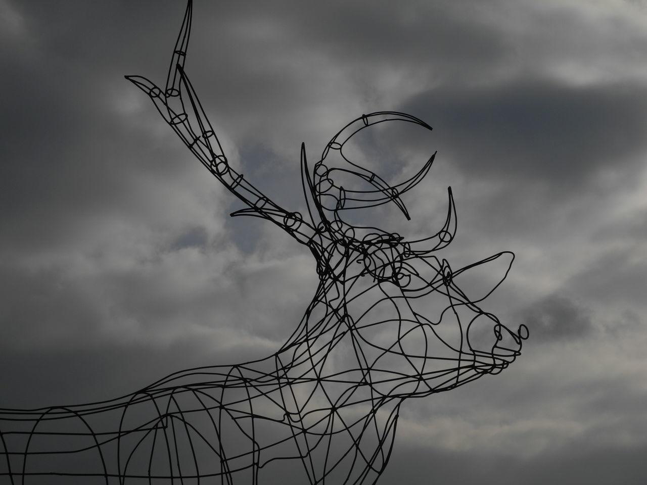 Arche de la nature 3D Art Cloud - Sky Day Deer Nature Outdoors Outside Art Sculpture