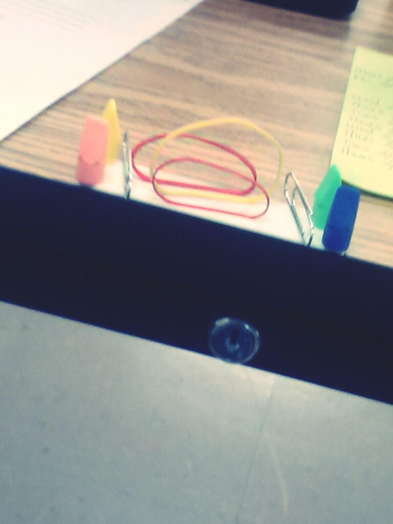 my creation on my language arts teachers desk