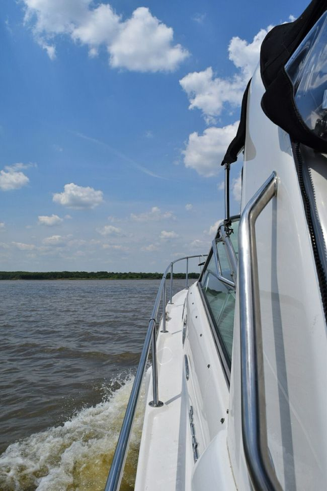 South Lake Texoma Photography Weekend Boat
