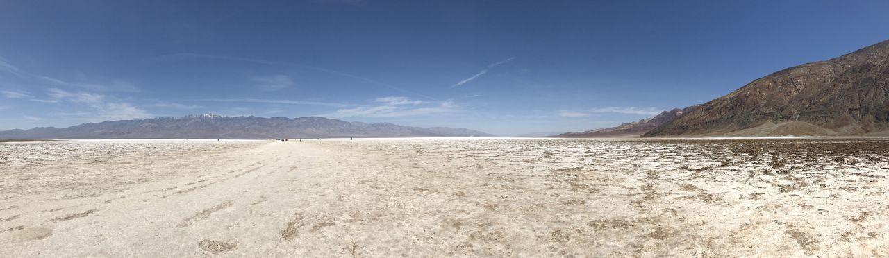 ©Amy Boyle Photography Death Valley National Park National Park Panoramic Photography Panoramic View Salt Flat