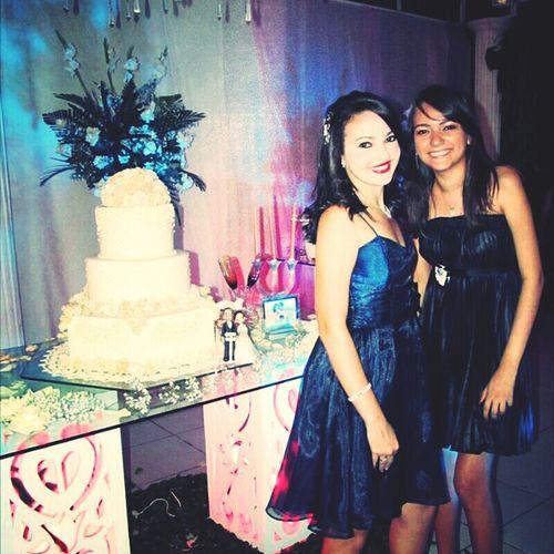 Com minha amiga *-* Casamento Da Jéssica E Thiago *-*'