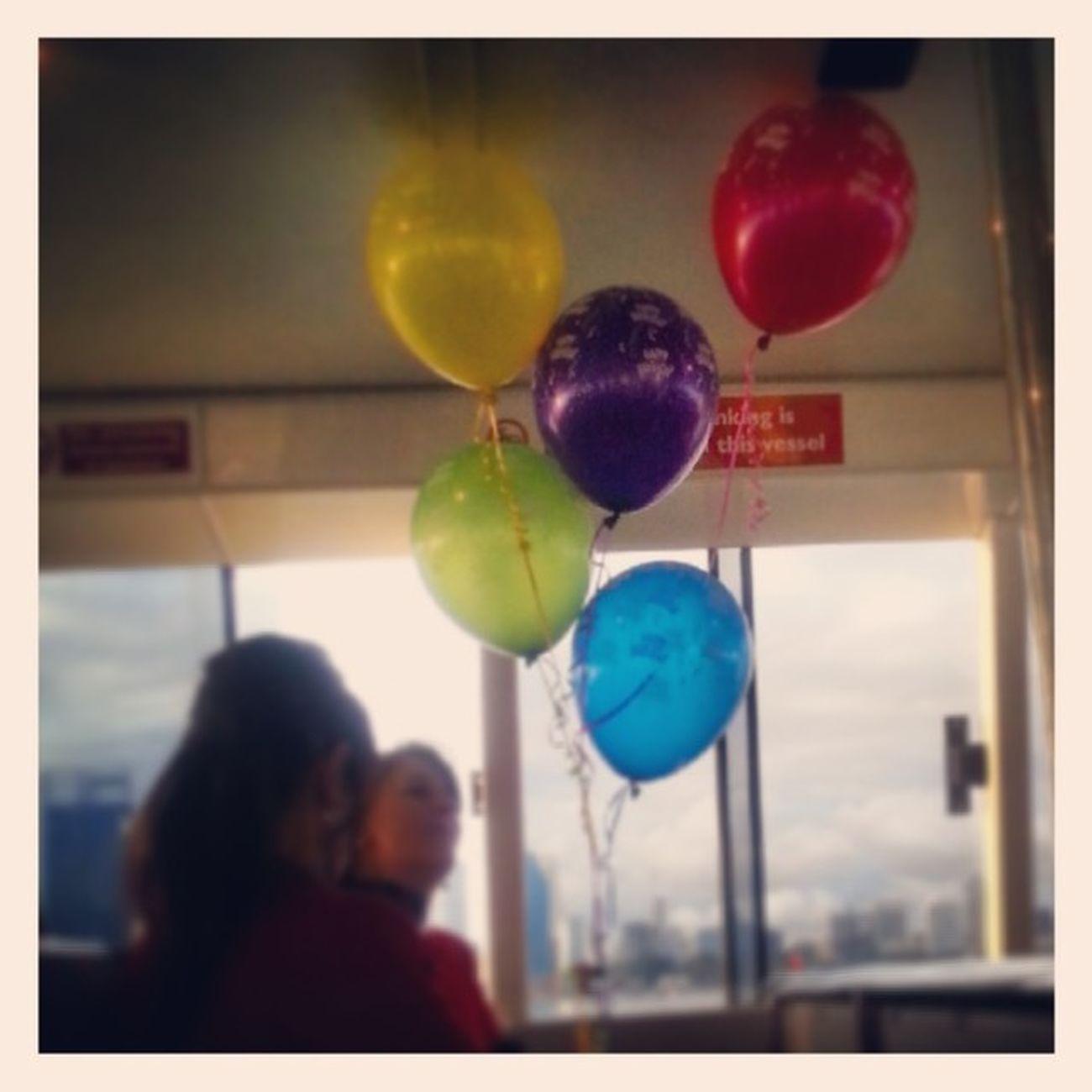 Happybirthdaytoyourandomladyontheferry Iloveballoons Perthlife Ferrylife