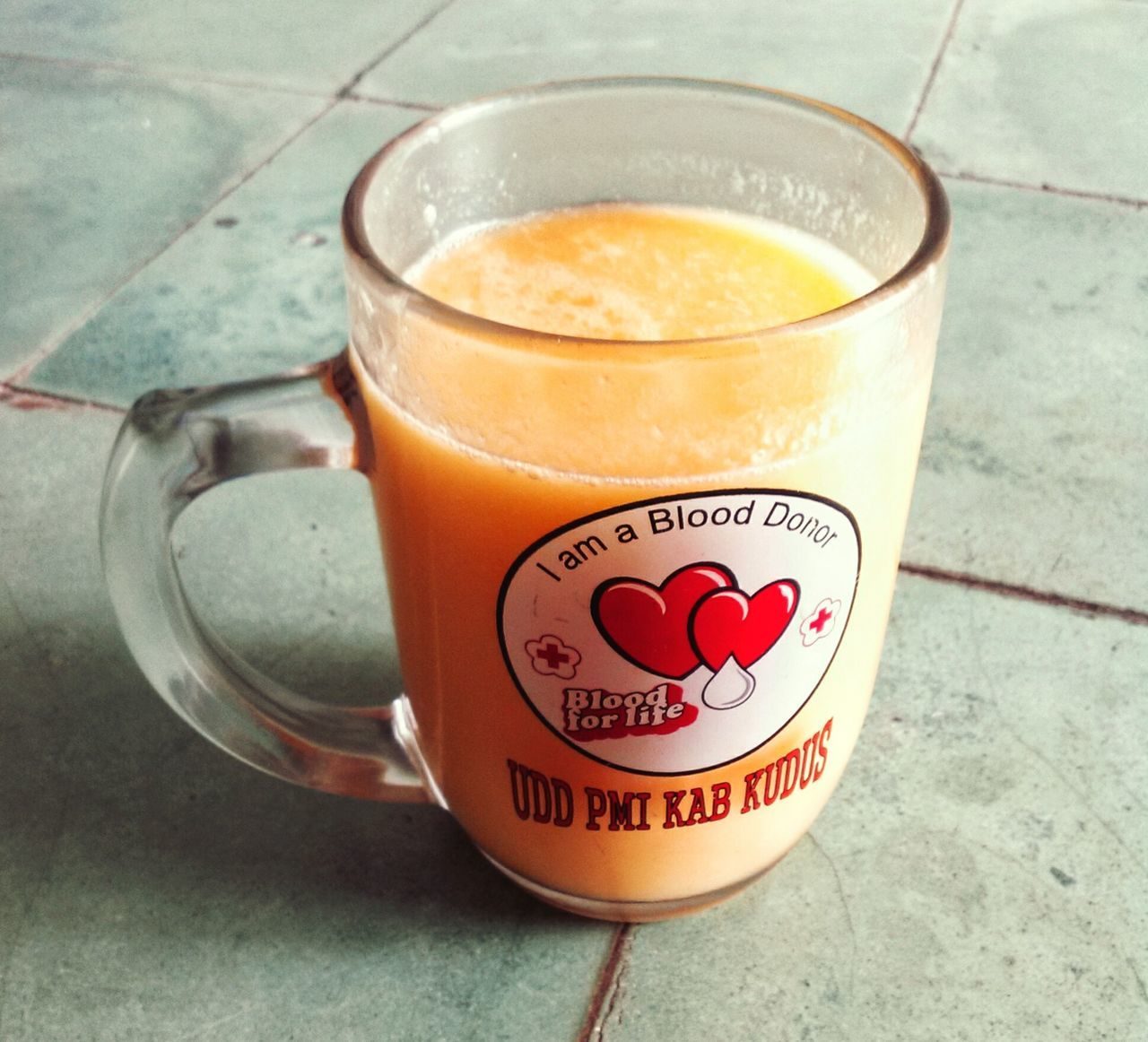 Indoors  Mango Juice Drinking 🍹