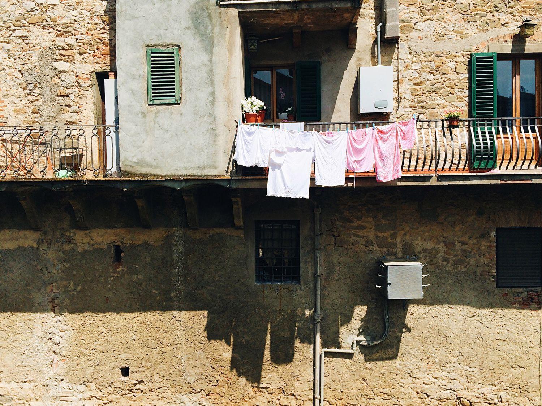Drying machine: the Italian way.
