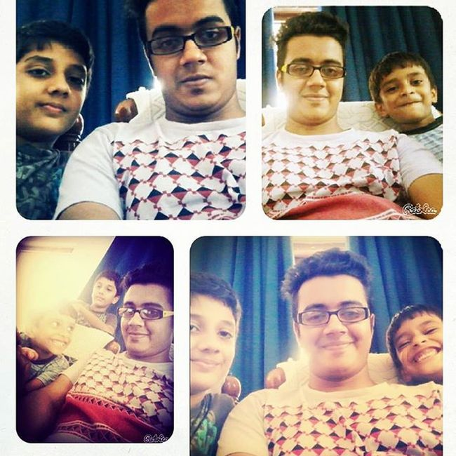 With ma chweet bro's Fun Funny Lillcousins Bros havingfun lillbros shayan shamal