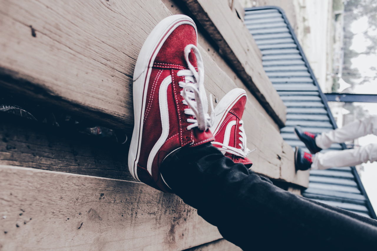 Shoe Human Body Part Limb Human Leg Low Section Steps Streetphotography Building Exterior City EyeEmNewHere Black And White Casual Clothing Abstract Photography Standing Leisure Activity Fashion Lifestyles Canon Camera Africa Detail