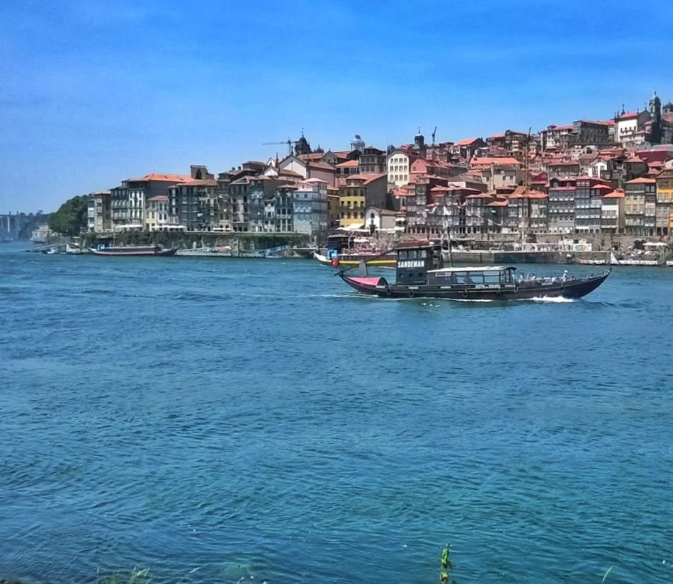 Nautical Vessel Building Exterior Transportation Sea Outdoors No People Water Architecture Sky Day River River View Douro  Douroriver Douro River Portugal Porto Porto _Portugal Porto, Portugal Douro River, Boats And Water Boats On The River