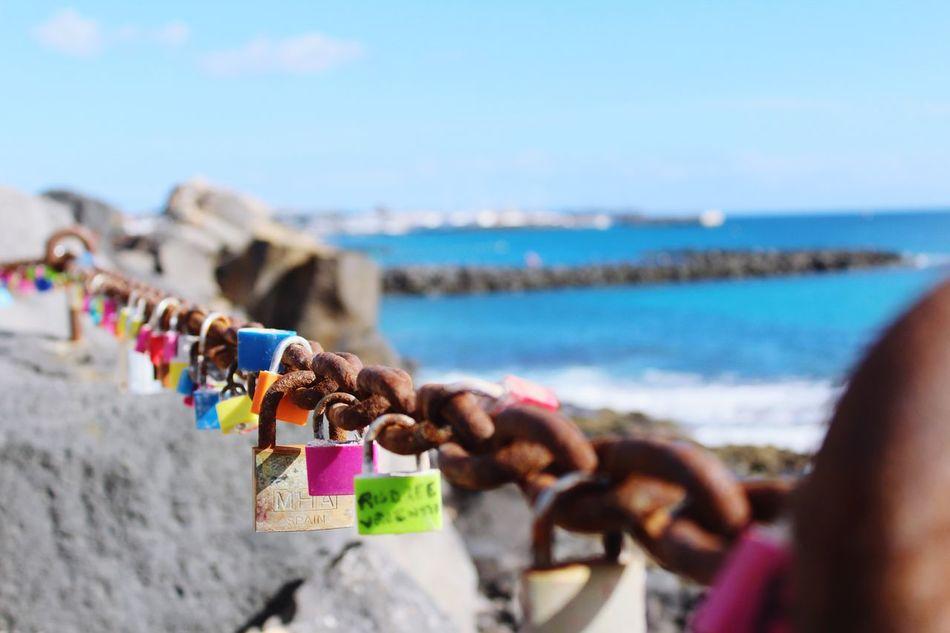 Forever Padlock Love Lock Security Water Love