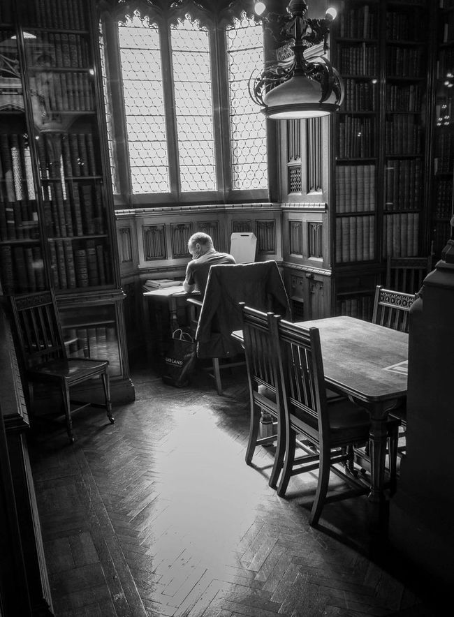 Tranquility.....John Ryland's Library, Manchester. This was a spur of the moment shot while walking around inside the main library. EyeEm Best Shots EyeEm Best Shots - People + Portrait Library Manchester