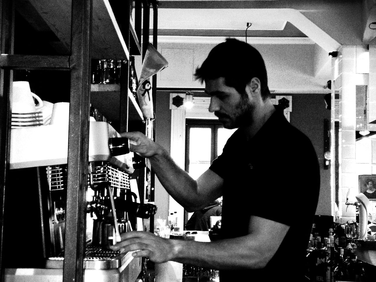 Coffee at Retro Coffee