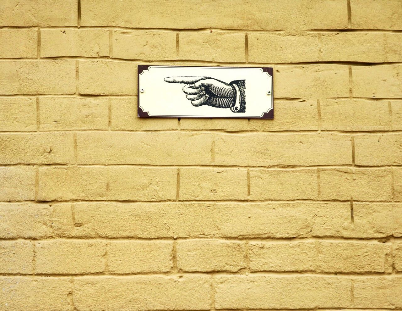 Wall - Building Feature Brick Wall Built Structure No People Architecture Outdoors Day Close-up Photo Photography Canon750D Canon_official Canon_photos Canonphotography Canon Design City Kiev Yellow Street Wall Direction Left Go Away Sign