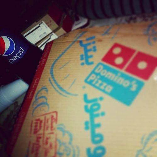 Itz Domino's pizza baby♡' with Taz & NF ? تصويري  بدون_تأثيرات اكل بيتزا