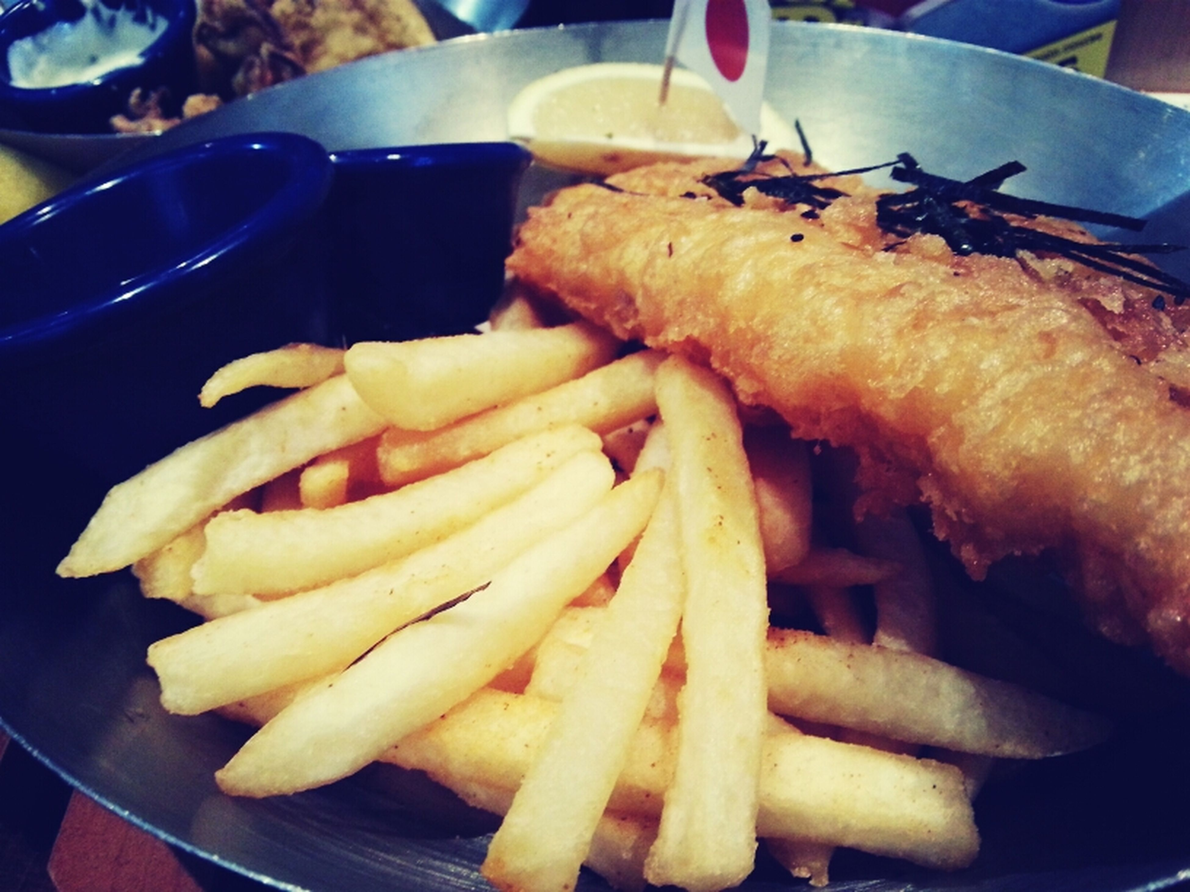 food and drink, food, freshness, ready-to-eat, indoors, french fries, plate, close-up, fast food, meat, still life, meal, deep fried, table, serving size, unhealthy eating, fried, prepared potato, indulgence, take out food
