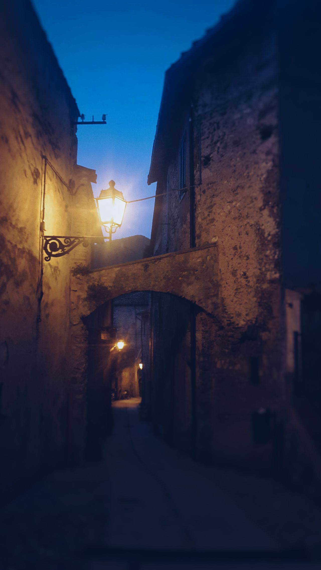 Night Architecture Illuminated Built Structure No People Building Exterior Street Light Outdoors Sky Umbria