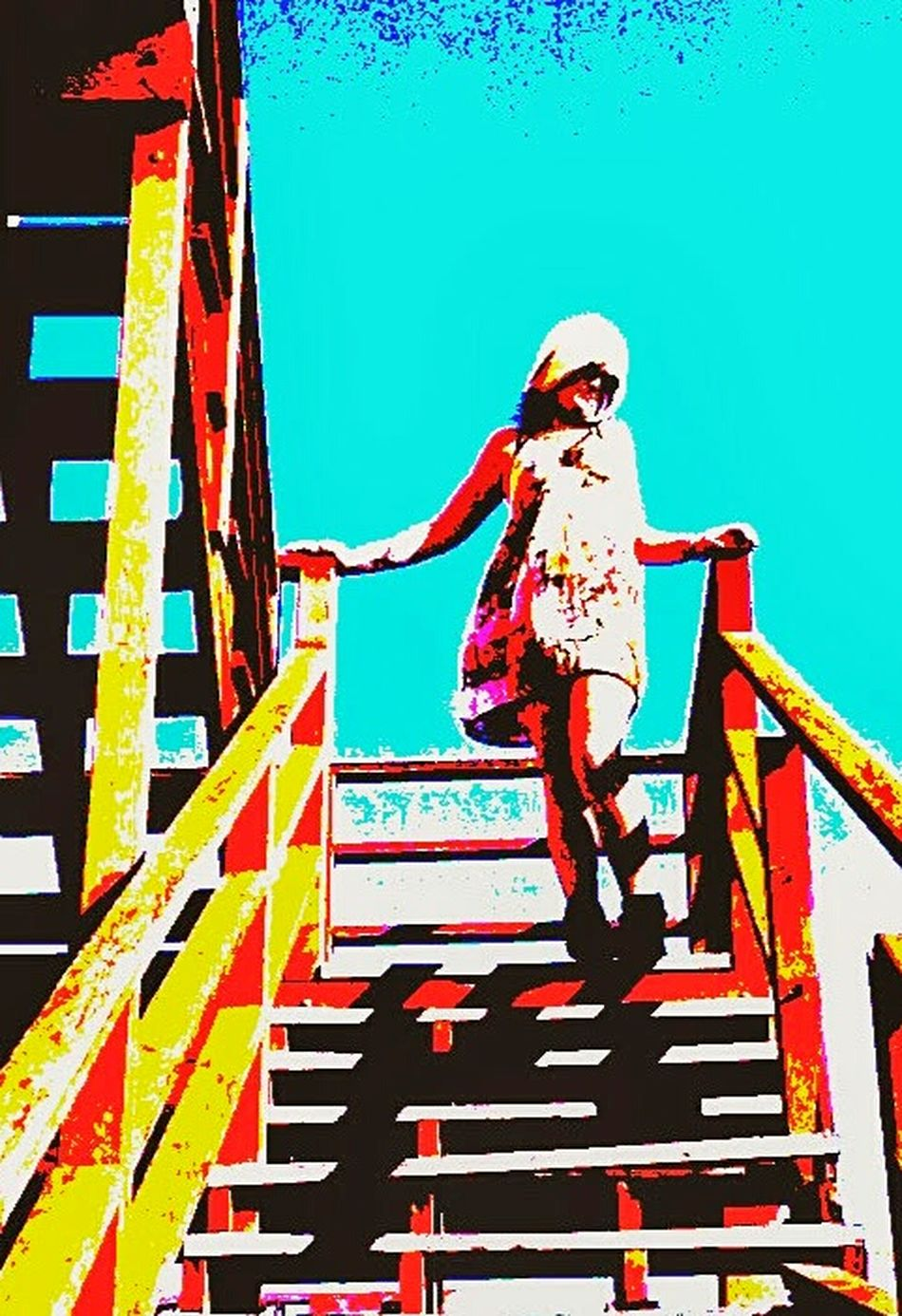 Self P. Outdoors Self Young Adult Female Illuminated Cityscape Architecture Sky Building Exterior Built Structure One Person