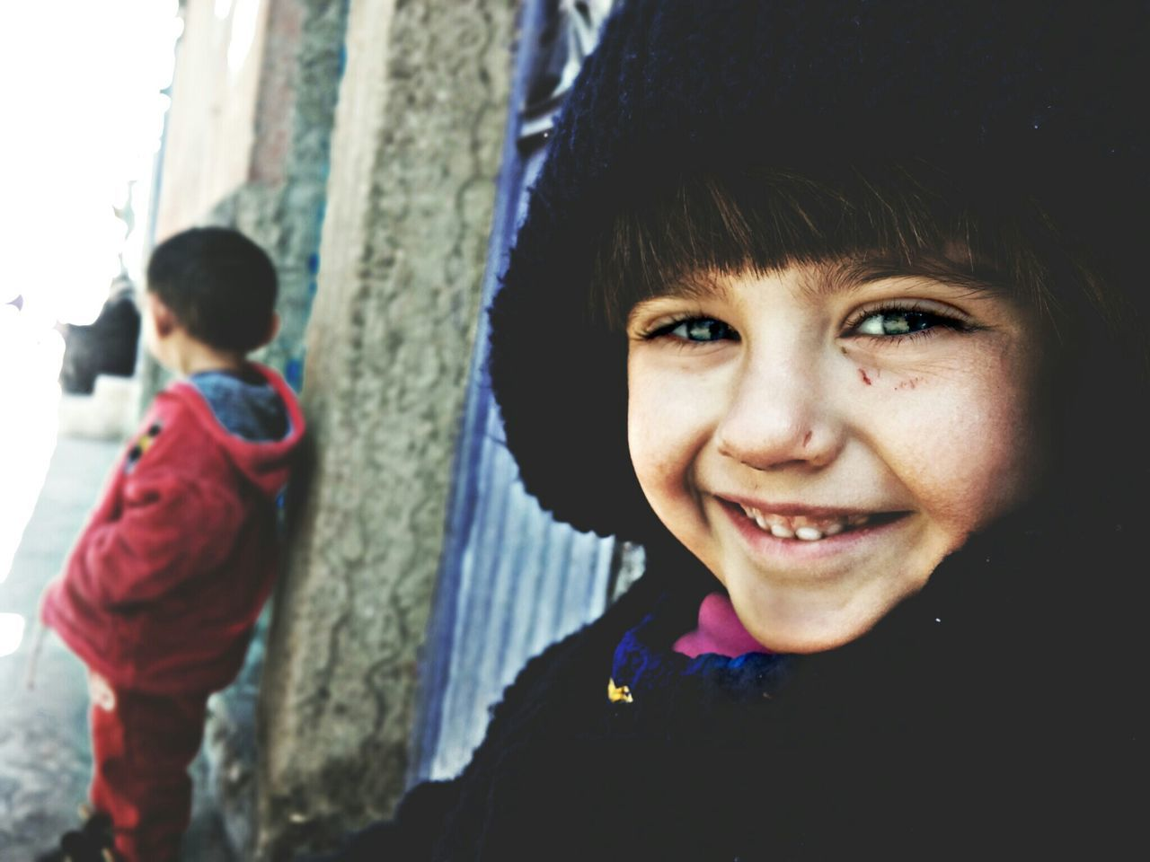 Portre Çalışmamızın Ilk Urunu :)Child Boys Looking At Camera Portrait Childhood Children Only Knit Hat Smiling Males  Casual Clothing Fun Outdoors Winter Happiness Cheerful People Warm Clothing Close-up Cold Temperature Human Body Part Hanging Out Relaxing Photography Turkey First Eyeem Photo