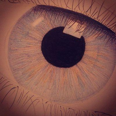 Eyeball Drawingtime Drawing Draw malen zeichnen lovetodoit sunday chilling pixiiart artbypixii