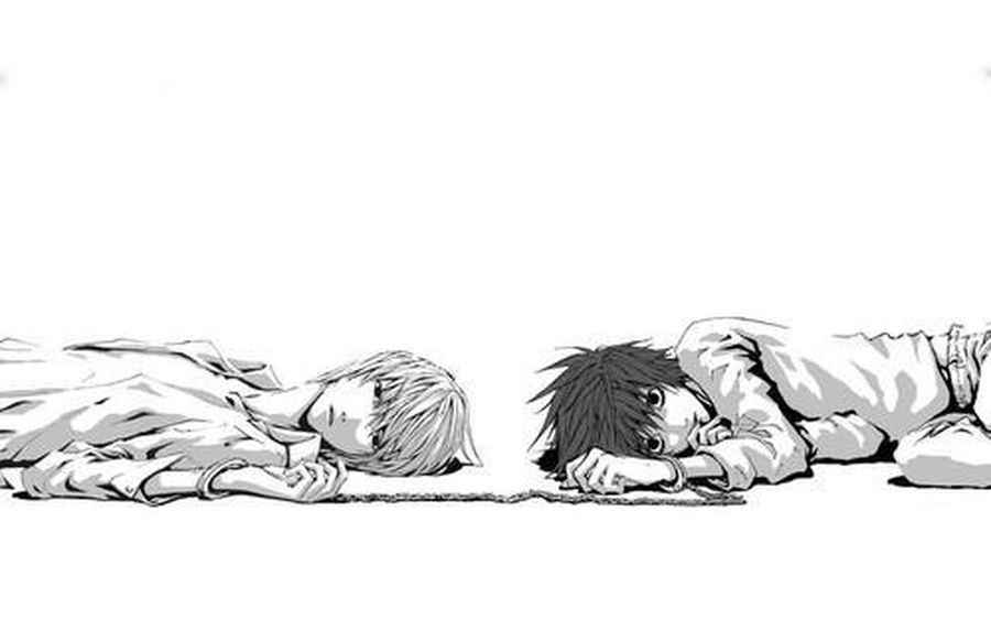 L And Light Yagami Death Note