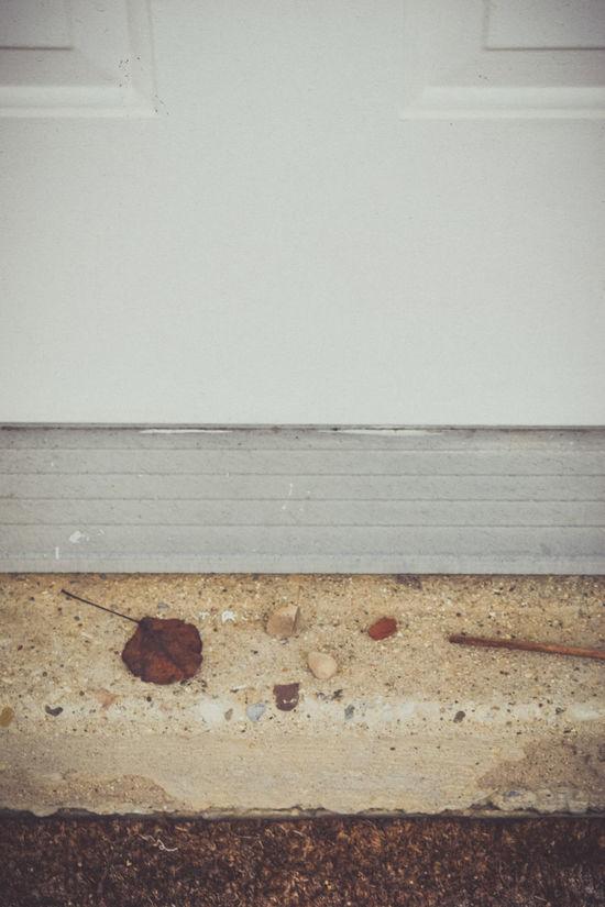 Door Doormat Doorstep Figurative Figuratively Leaf Literal Literalism Literally Nature On Your Doorstep Rocks Showcase MarchStep Stones Twig White Door