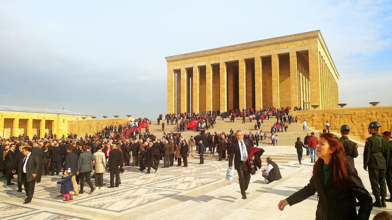 Large Group Of People History People Outdoors Anıtkabir Atatürk Mustafa Kemal Atatürk Kalbimizdesin я С и Ankara Türkiye Анкара Great Turk